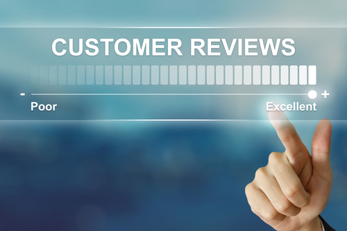 excellent customer reviews