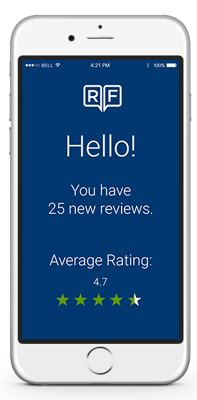 Get Reviews to Mobile